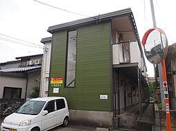 石川県金沢市三馬3丁目の賃貸アパートの外観