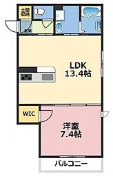 (仮称)東大阪市シャーメゾン上小阪3丁目[205号室号室]の間取り
