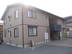 広島県安芸郡府中町浜田本町の賃貸アパートの外観