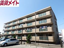 三重県鈴鹿市中旭が丘2丁目の賃貸マンションの外観