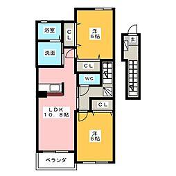 N・Y・ガーデン[2階]の間取り