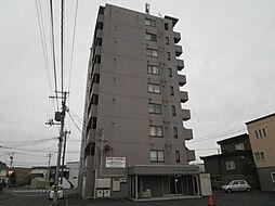 北海道札幌市北区篠路八条6丁目の賃貸マンションの外観