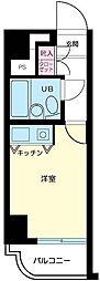 東京都大田区大森西3の賃貸マンションの間取り