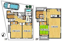 [一戸建] 東京都江戸川区東小岩5丁目 の賃貸【/】の間取り