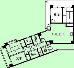 第二定森ビル[3階]の間取り