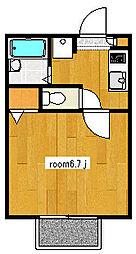 ロイヤルコモード[1階]の間取り