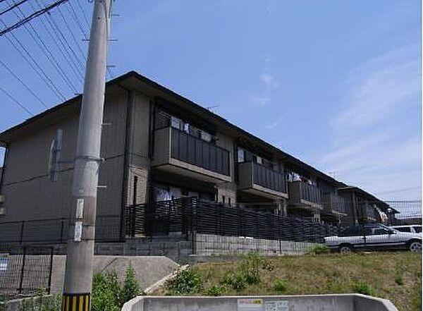 兵庫県神戸市西区水谷 2丁目の賃貸アパートの外観
