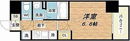 セオリー大阪城サウスゲート[6階]の間取り