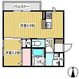 D-room SUMON[2階]の間取り