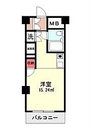 神奈川県横浜市神奈川区松見町1の賃貸マンションの間取り