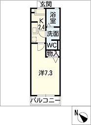 プランドール八事山[2階]の間取り