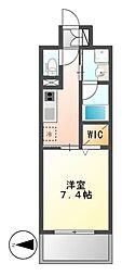 GRAND ESPOIR IZUMI[13階]の間取り