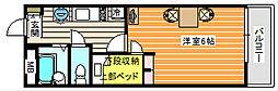 OKANO[304号室]の間取り