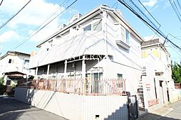 東京都調布市飛田給1丁目の賃貸アパートの外観