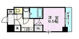 レジュールアッシュ京橋クロス[4階]の間取り