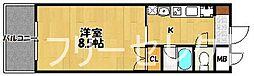 カーサ・ヴェルデ博多駅南[4階]の間取り