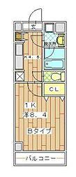 ハイトピア横浜[7階]の間取り