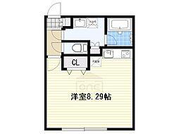 Branche覚王山[2階]の間取り