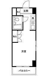 東京都江戸川区中葛西8の賃貸マンションの間取り