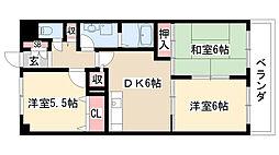 愛知県名古屋市緑区滝ノ水1丁目の賃貸マンションの間取り