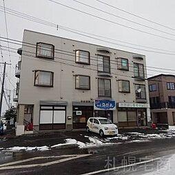 北海道札幌市東区東苗穂五条1丁目の賃貸アパートの外観