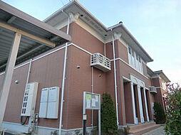 兵庫県姫路市香寺町中仁野の賃貸アパートの外観