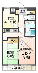 ローレル板宿戸崎通[6階]の間取り
