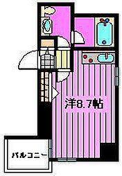 AXIS桜木町[4階]の間取り
