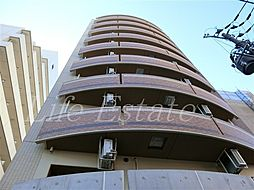 大阪府大阪市中央区粉川町の賃貸マンションの外観