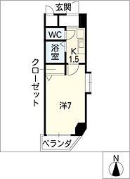 アスクHARAビル[5階]の間取り