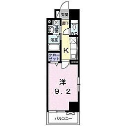 シティタワー 高崎[0601号室]の間取り