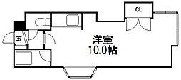 エトワール東札幌[1階]の間取り