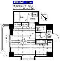 ステージファースト神楽坂[3階]の間取り
