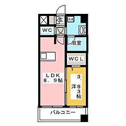 MCG吉塚[9階]の間取り