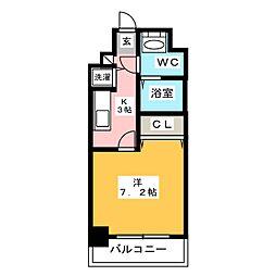 アソシアグロッツォ博多セントラルタワー[10階]の間取り