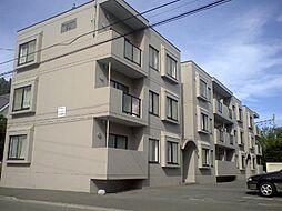 北海道札幌市中央区北七条西11丁目の賃貸マンションの外観