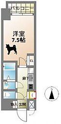 サムティ本町AGE[8階]の間取り