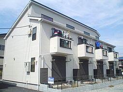 東京都西東京市柳沢2丁目の賃貸アパートの外観