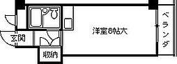 阪神不動産販売ビル[202号室]の間取り