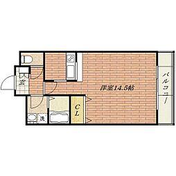 エトワール新在家[1階]の間取り
