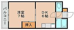 ヤスヤビル[3階]の間取り