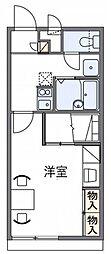 レオパレスIKKO[2階]の間取り