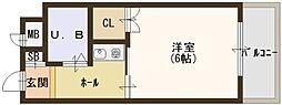 ルミナスハイツ[3階]の間取り