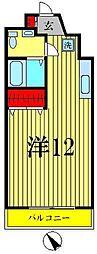 プラムコート北松戸[2階]の間取り