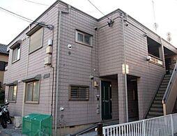 神奈川県大和市西鶴間4の賃貸アパートの外観