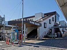 駅 1880m 中神駅