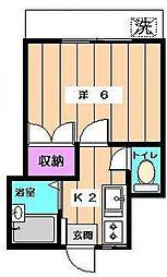 メゾンドグリーン[2階]の間取り