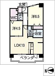 テラッツァ白壁[2階]の間取り