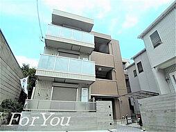 兵庫県神戸市中央区中島通2丁目の賃貸アパートの外観