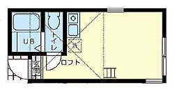 ユナイト井土ヶ谷ミロワールの杜[1階]の間取り